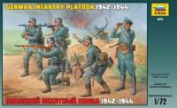 Сборная модель Звезда 'Немецкий пехотный взвод 1942-1944 гг.' 1:72 (8078)