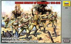 Сборная модель Звезда 'Русская пехота Первой мировой войны 1914-1918 гг.' 1:72 (8082)
