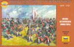 Сборная модель Звезда 'Русская пехота Петра 1 1698-1725 гг.' 1:72 (8049)