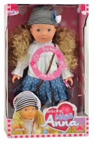 Интерактивная кукла Bambolina Мисс Анна (BD1363UA)