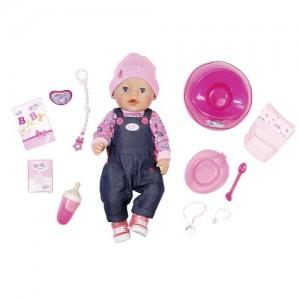Интерактивная кукла ZAPF Baby Born 'Джинсовый стиль' 43 см (824238)