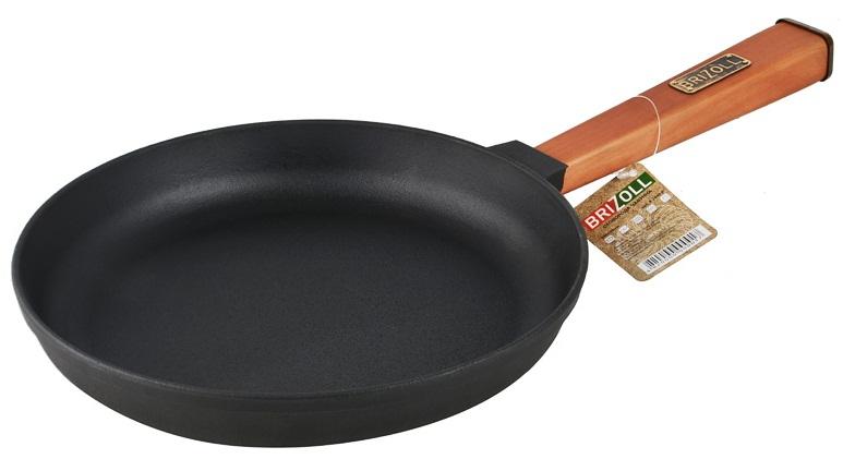 Купить Сковорода чугунная Brizoll, 26 см (О2640-Р)