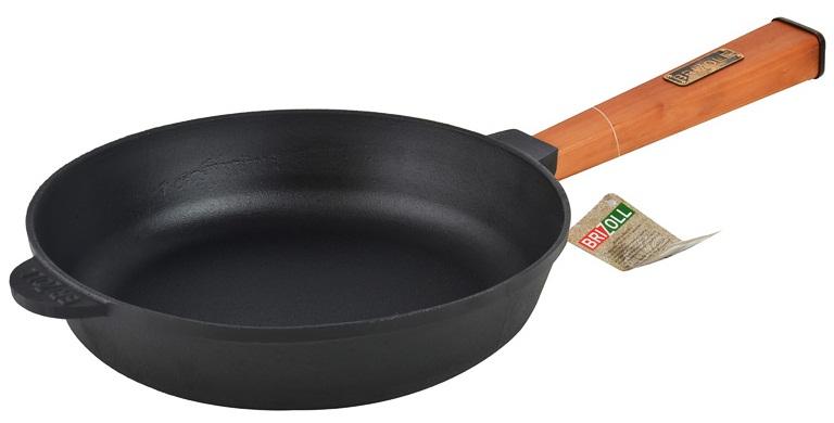 Купить Сковорода чугунная Brizoll, 26 см (О2660-Р)
