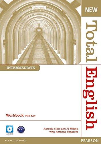 Купить Total English Intermediate Workbook with Key and Audio CD Pack, Anthony Cosgrove, 978-1-4082-6735-6