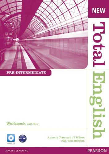 Купить Total English Pre-Intermediate Workbook with Key and Audio CD Pack, Will Moreton, 978-1-4082-6737-0