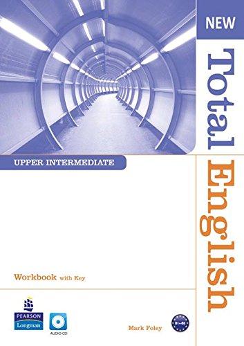 Купить Total English Upper Intermediate Workbook with Key and Audio CD Pack, Mark Foley, 978-1-4082-6741-7