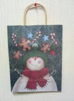 Подарок Подарочный пакет новогодний 10405-5 (31 x 24,5 x 10,5 см)