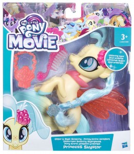 Набор Hasbro My Little Poni Glitter and Style Seapony 'Princess Skystar' (C0683 / C1833EU40)
