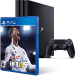 Приставка Sony Playstation 4 Pro 1000gb + Игра FIFA 18