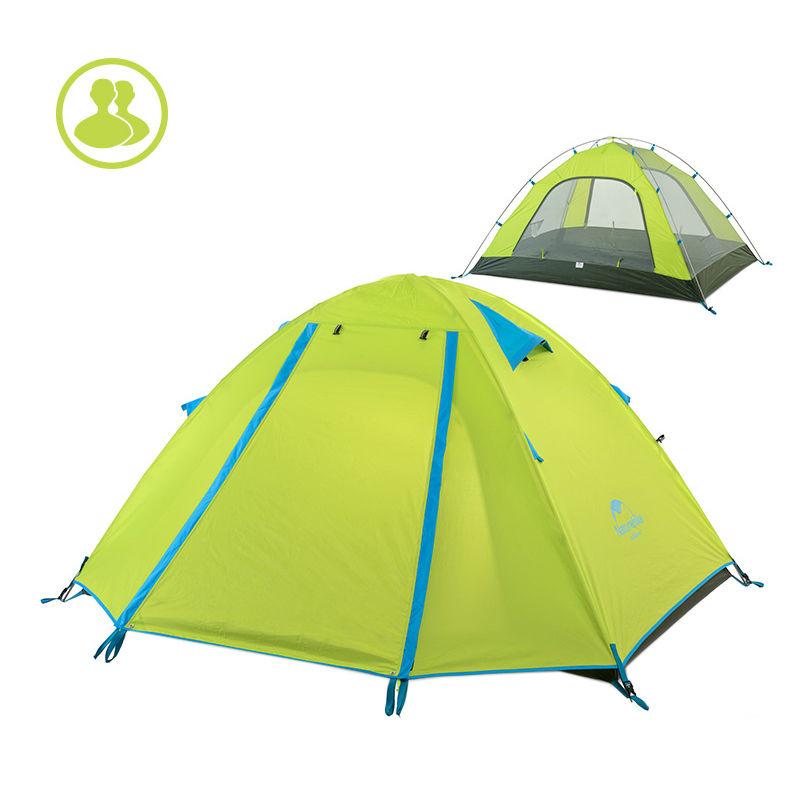 Купить Палатка NatureHike 'P-Series 4' green (NH15Z003-P)