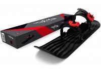 Монолыжа Plastkon OneFoot Miniski черная с красным (49652)