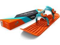 Монолыжа Plastkon OneFoot Miniski оранжевая (49653)