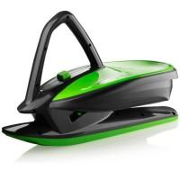 Санки Plastkon Skidrifter черные с зеленым (49096)