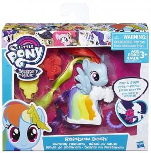 Игровой набор Hasbro My Little Pony Пони-модницы 'Rainbow Dash' (B8810 / B9622EU4)