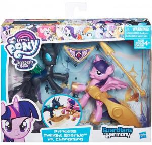 Игровой набор Hasbro My Little Pony Хранители Гармонии 'Twilight Sparkle and Changeling' (B7297)