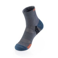 Носки трекинговые мужские NatureHike 'Merino wool Light' M blue/grey (NH17A012-M)