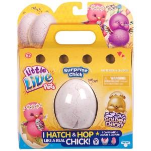 Интерактивная игрушка Moose Little Live Pets Surprise Chick Цыпленок в яйце (28324)