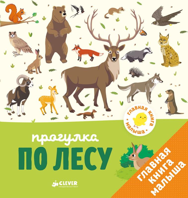 Купить Главная книга малыша. Прогулка по лесу, Аньес Бессон, 978-5-00115-010-7