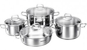 Набор посуды Korkmaz 'Perla', 8 предметов (A1606)