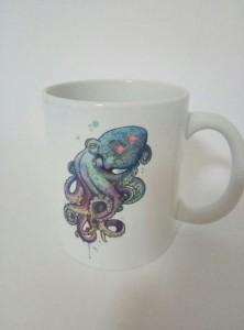Подарок Оригинальная чашка 'Октопус'
