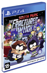 игра South Park: The Fractured but Whole (PS4)