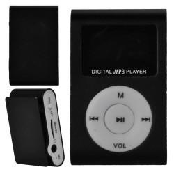 MP3 плеер c дисплеем и наушниками (черный)