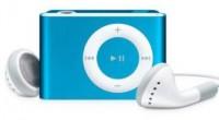 MP3 плеер с наушниками (голубой)