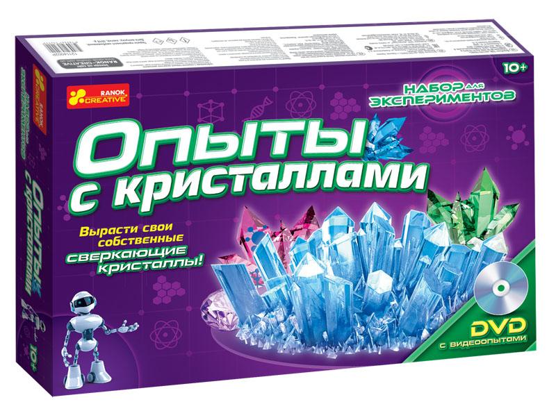 Купить Набор для экспериментов 'Опыты с кристаллами', Ranok