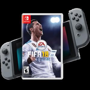 игра FIFA 18 Switch