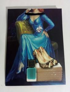 фото Подарочный пакет с 3D аппликацией и глиттером (24 х 18 х 9 см) #5