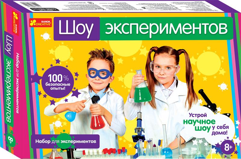 Купить Набор для экспериментов 'Шоу экспериментов', Ranok