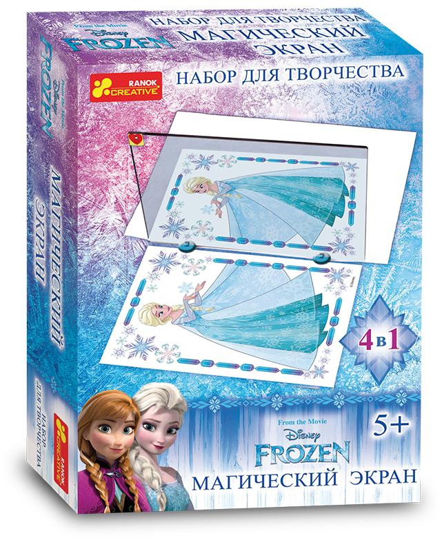 Купить Набор для творчества 'Магический экран. Frozen' (13162062Р), Ranok