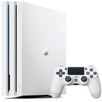 Приставка Sony PlayStation 4 Pro 1Tb Rus White (CUH-7108)