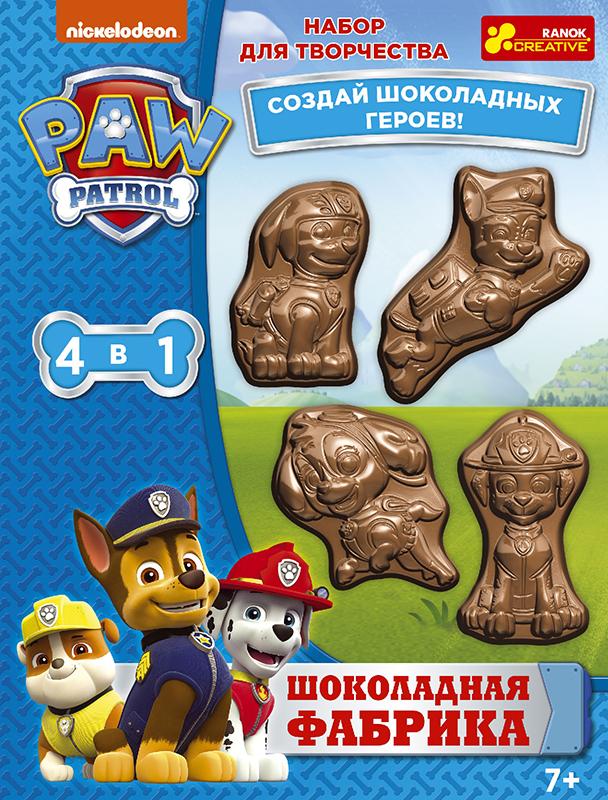 Шоколадная фабрика 'Щенячий патруль', Ranok  - купить со скидкой