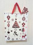 Подарок Подарочный пакет новогодний Angel Gifts 6006В (26 x 32 x 10 см)