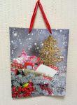 Подарок Подарочный пакет новогодний Angel Gifts 8949В (26 x 32 x 10 см)