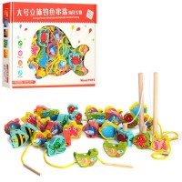 Деревянная шнуровка Vооd Toys (MD 1008)