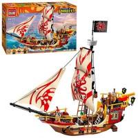 Конструктор Brick 'Пиратский корабль' 368 дет. (1311)