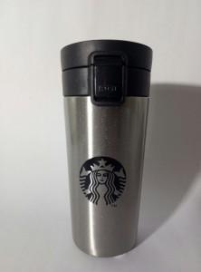 Подарок Термокружка Н-252 Starbucks, стальная