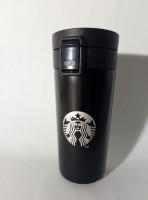 Подарок Термокружка Н-252 Starbucks, черная