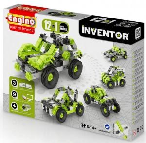 Конструктор Engino 'Inventor' 12 в 1 - 'Автомобили' (1231)