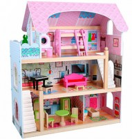 Деревянный домик для кукол Bambi (MD 1038)