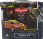 Робот-трансформер на радиоуправлении (трансформируется в машину, красный) (Т10867)