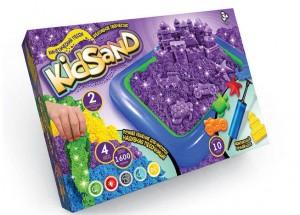 Кинетический песок Danko toys KidSand (1600 г и песочница) (7450DT)