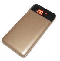 Универсальная мобильная батарея Smartfortec 12000 mA/h gold (PBK-12000-N gold)