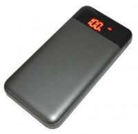 Универсальная мобильная батарея Smartfortec 12000 mA/h grey (PBK-12000-N grey)
