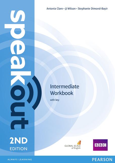 Купить Speakout Intermediate 2nd Edition Workbook with Key, Stephanie Dimond-Bayir, 978-1-4479-7686-8