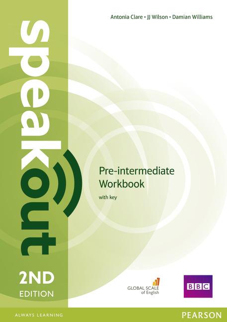 Купить Speakout Pre-Intermediate 2nd Edition Workbook with Key, Damian Williams, 978-1-4479-7697-4