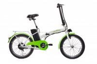 Электровелосипед URBAN 20'' (бело-зеленый)