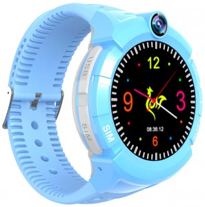 Детские умные часы Motto с GPS трекером S-02 Blue